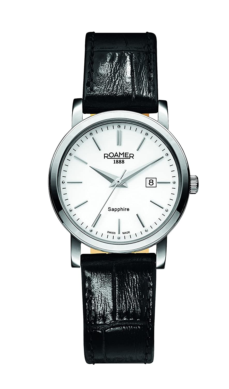 Roamer Damen-Armbanduhr Classic Line Analog Quarz 709844 SL1