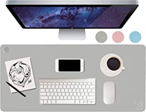 Marvelistic Large Leather Desk Pad - Nonslip Artgerm Illustrated Desks Mat/Blotter/Accessories for Men & Women. Extended Pad at Home/Office for Work/Gaming When Using Desktop/Laptop. (36