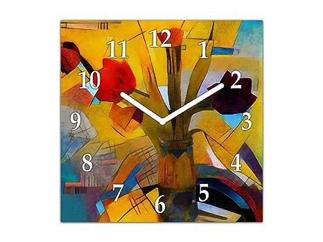 Orologi Da Parete In Tela : Concept crystal orologio da parete senza ticchettio orologio per