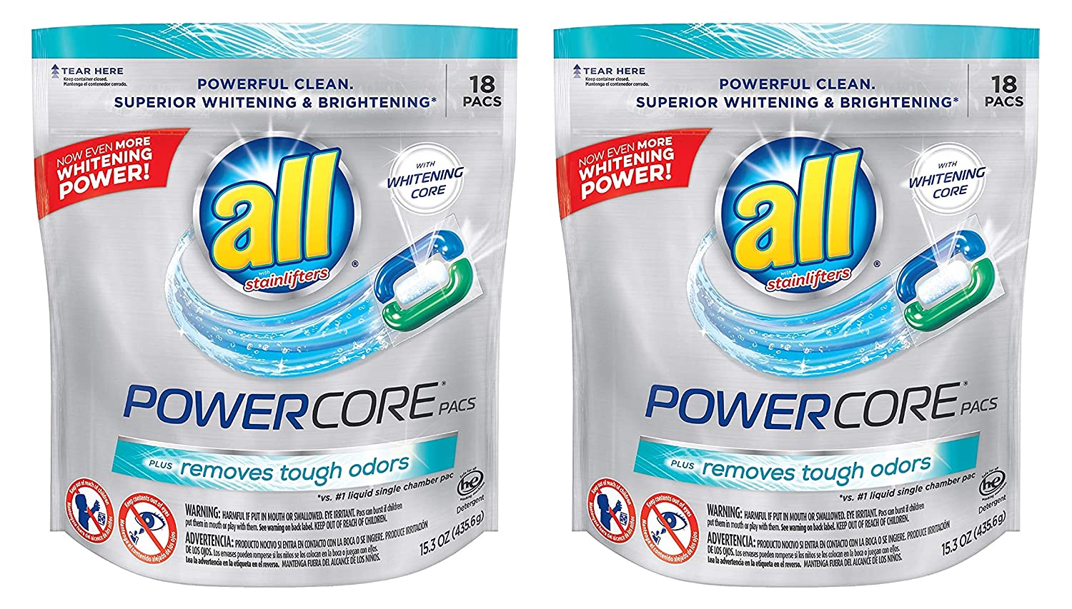 Amazon.com: All PowerCore Laundry Detergent Pods - with ...