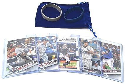 Gary Sanchez Baseball Cards Assorted 5 Gift Bundle New York Yankees Trading Cards