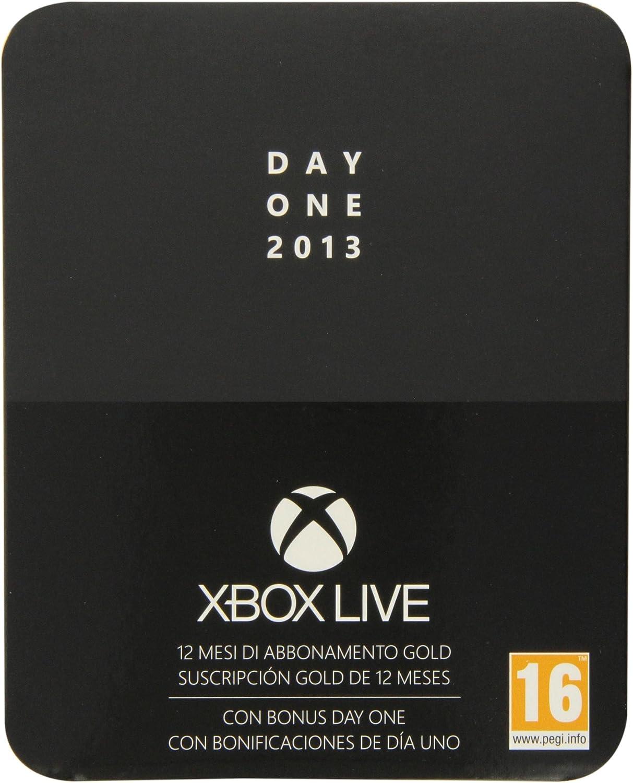 Microsoft - Tarjeta Live 12 Meses Gold: Edición Especial (Xbox ...