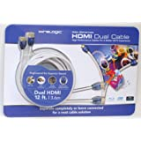 Amazon.com: WireLogic 6 Feet Sapphire HDMI Cable Supports 3D ...