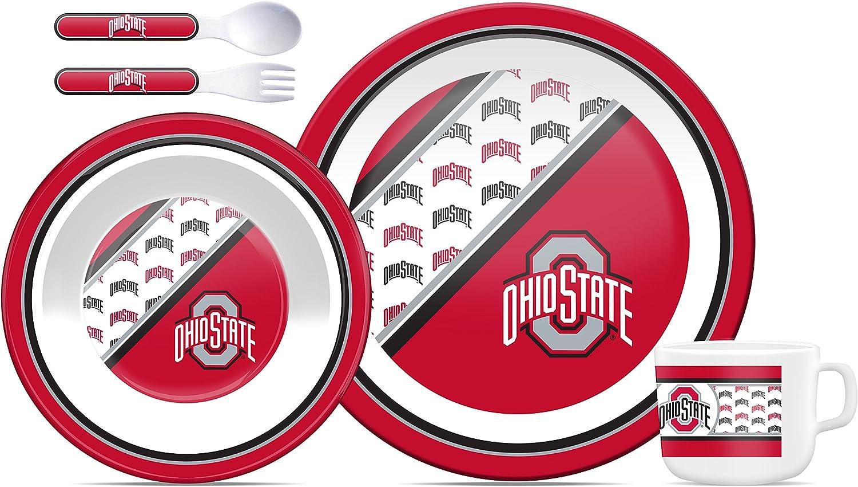 NCAA Ohio State Buckeyes Childrens Dinner Set