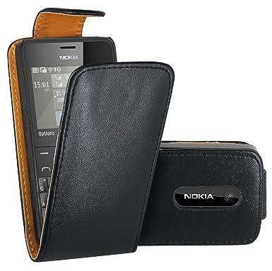 san francisco 7fbee 76018 Nokia 210 Case, FoneExpert® Premium Leather Flip Wallet Book Case ...