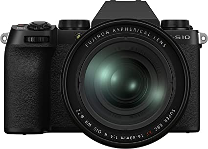 Fujifilm X S10 Systemkamera Inkl Xf16 80mmf4 R Ois Wr Kamera