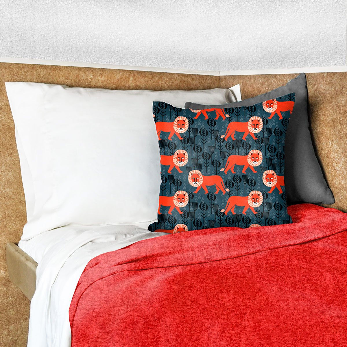 AB Lifestyles Cuddle Minkie Blankets for RVs and Campers 30x75 Red by AB Lifestyles