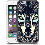 Head Case Designs Wolf Aztekische Tiergesichter 3 Ruckseite Hülle für Apple iPhone 6 / 6s