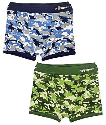 af8b2dc60f78 Amazon.com: Boys Boxer Briefs Toddler Training Underwear Easy Pull Up  Handles: Clothing