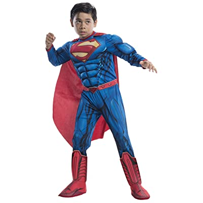 Rubie's Costume DC Superheroes Superman Deluxe Child Costume, Large: Toys & Games