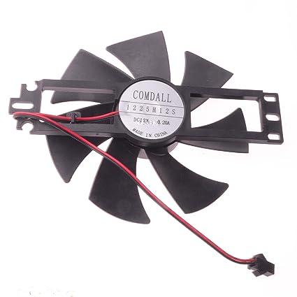 12 V, 0,4 A 4 Pin para MSI R9 tarjeta gráfica Ventilador ...