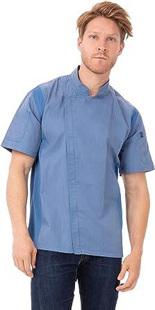 Chef Works BCSZ009SKYXL Chaqueta de Cocina, Azul Celeste, XS para Hombre: Amazon.es: Ropa y accesorios