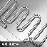 VEVOR 110V 6-Pan Commercial Food Warmer 850W