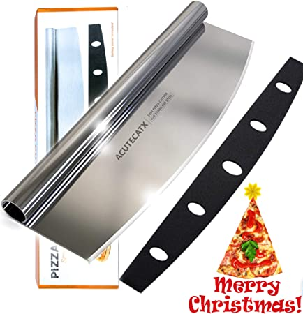 Amazon.com: Cortador de pizza – cuchilla rociadora afilada ...