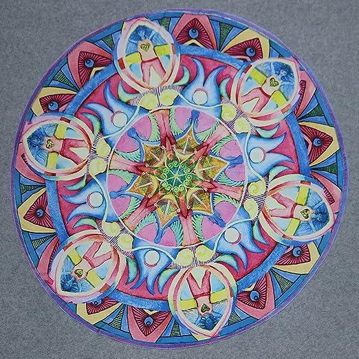 Kinlene Flores Ronda Toalla de Playa Yoga Picnic Manta Colcha Impreso Toalla de Playa(do): Amazon.es: Ropa y accesorios