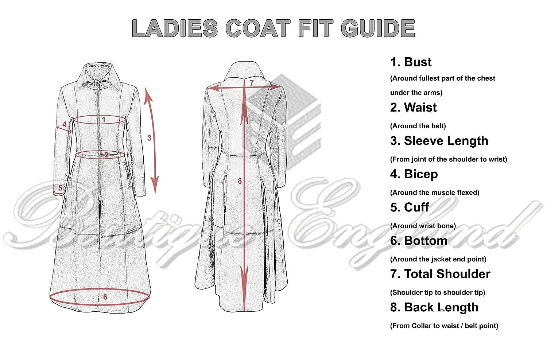 Ladies New Matrix Black Soft Leather Full-Length Long Gothic Coat Rock Jacket at Amazon Womens Coats Shop