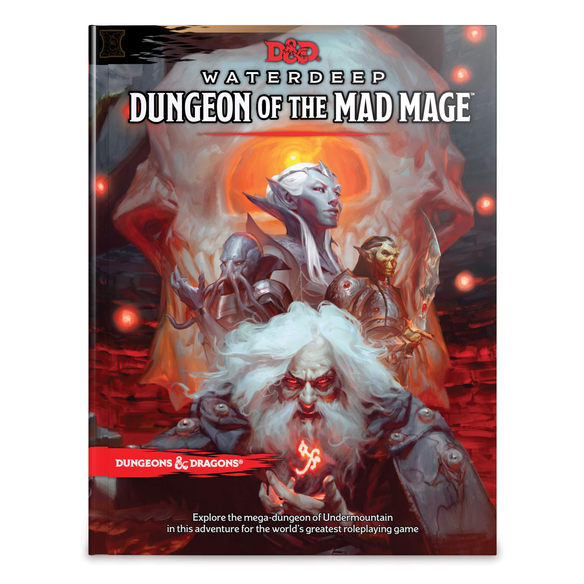 Dungeons & Dragons Waterdeep: Dungeon of the Mad Mage (Adventure Book, D&D Roleplaying Game) by Wizards of the Coast