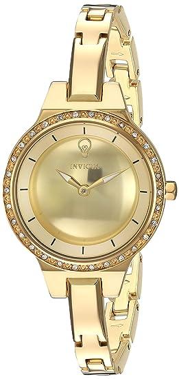 INVICTA Gabrielle Union Reloj DE Mujer Cuarzo Correa Y Caja DE Acero 23330: Amazon.es: Relojes