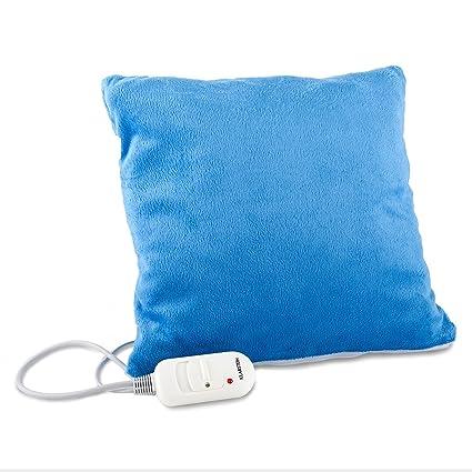 Klarstein Winter Dreams Almohadilla eléctrica (45W potencia, 35 x 35 cms, lavable,