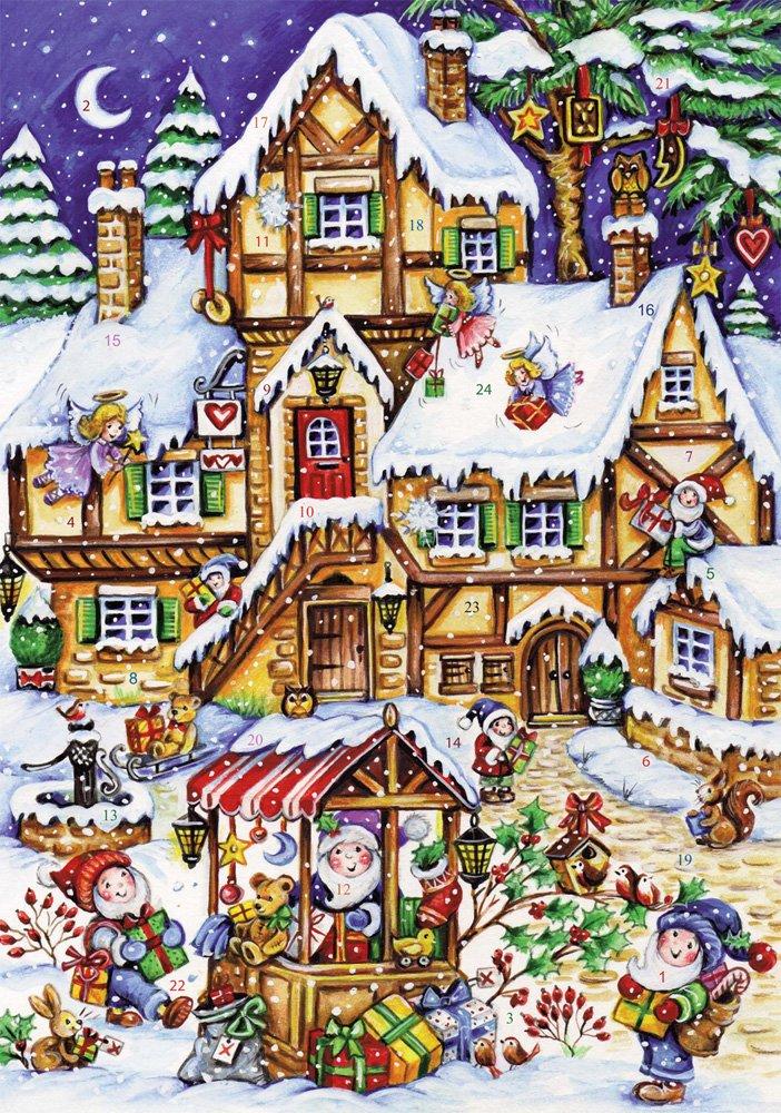 Calendario dell'Avvento Negozio natalizio Vermont Christmas Company