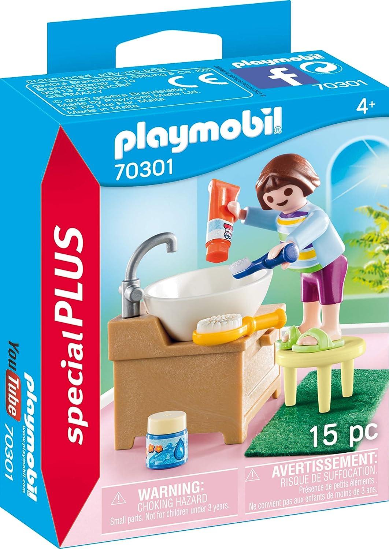 PLAYMOBIL Special Plus 70301 - Chica para cepillar los Dientes, a Partir de 4 años