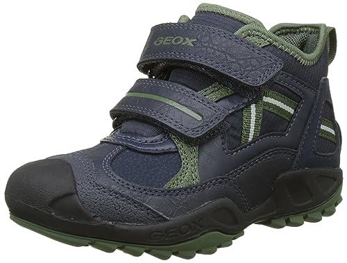 3a1d9d2d72c98a Geox Jungen J New Savage Boy B Hohe Sneaker  Amazon.de  Schuhe ...