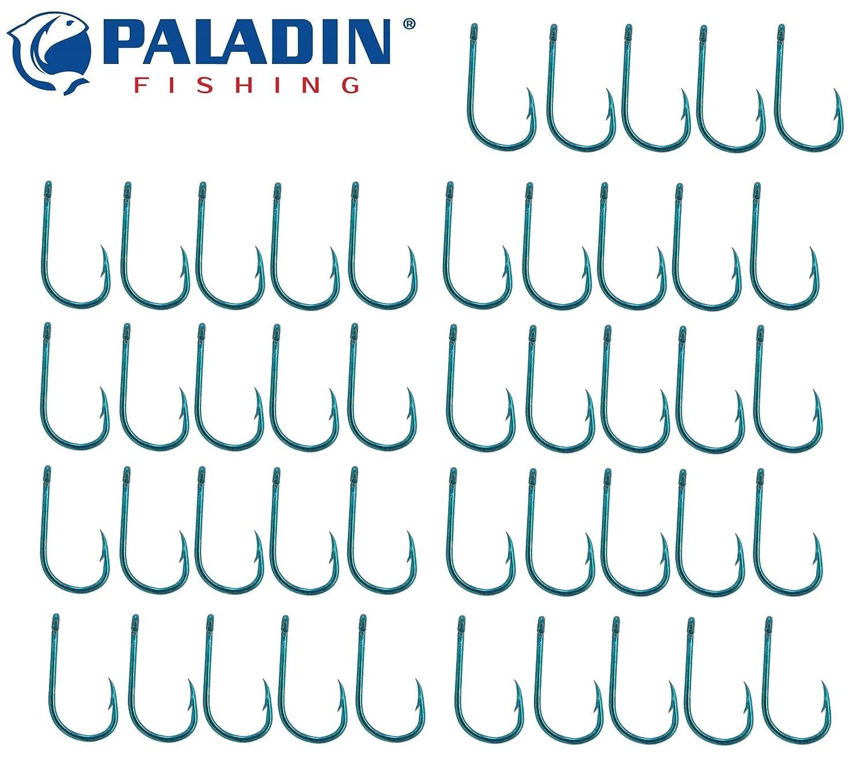 Paladin Forellenhaken - 45 Angelhaken Zum Forellenangeln, Öhrhaken Zum Forellenfischen, Einzelhaken Zum Standangeln & Schleppangeln auf Forelle