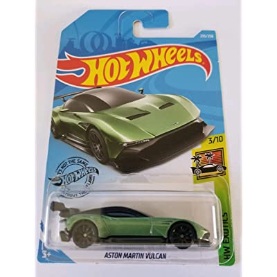 Hot Wheels 2020 Hw Exotics Aston Martin Vulcan 235/250, Green: Toys & Games