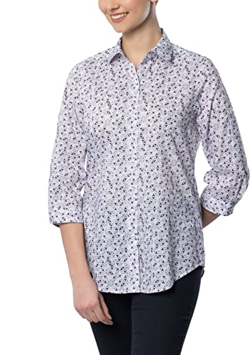ETERNA 3/4 sleeve Blouse COMFORT FIT printed