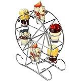 Thumbs Up 16 cm X 9 cm X 7 cm Wheel Of Fortune Wheels Shots Glass Glass Multicoloured