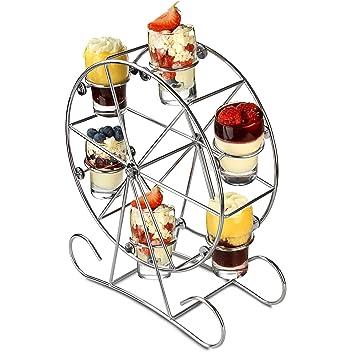 Riesenrad Appetizer Set – Shot Glas Ständer für Getränke und Canapés ...
