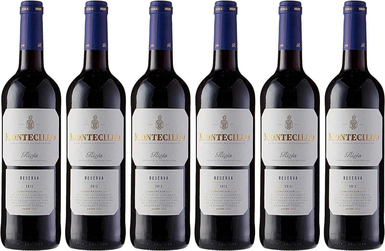 Vino tinto DO Rioja Montecillo Reserva - Caja de 6 unidades de vino Montecillo de 75cl