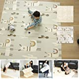 XdeModa Reversible Baby Play Mat & Exercise Mat - Fun & Stylish Foam Floor Playmat for Adults, Kids and Infants. Elegant…