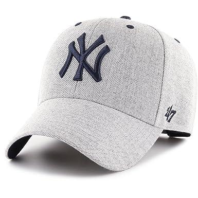 c524b62e30b0f8 47 Brand Adjustable Cap - CLOUD New York Yankees charcoal: Amazon.co ...