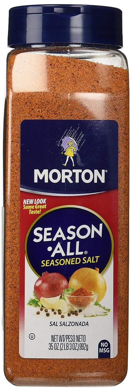 Morton Season-All Seasoned Salt 35oz