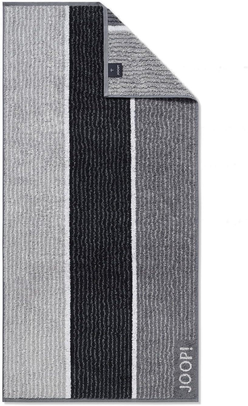 100 /% coton 50 x 100 cm Joop Serviettes Signature Lines 1658 70 Graphit