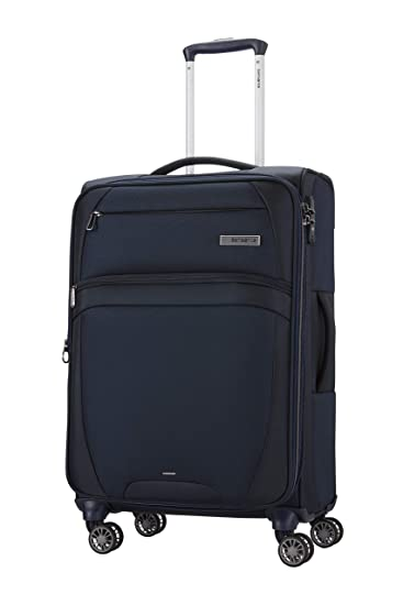 SAMSONITE Zira Polyester 67 cms Navy Softsided Check-in Luggage (SAM ZIRA SP 67/24 EXP - Navy)