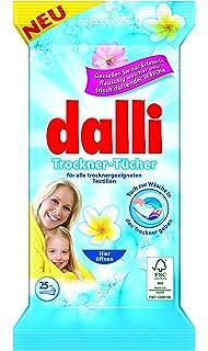 Las hojas de secado de la secadora Dalli disfrutan de la experiencia del lino perfumado suave