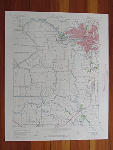Amazon.com: Stockton California 1959 Original Vintage USGS ...