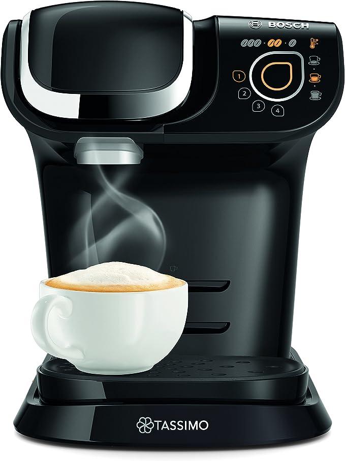 Bosch Tassimo My Way TAS6002GB - Cafetera (1500 W, 1,2 L), color negro: Amazon.es: Hogar