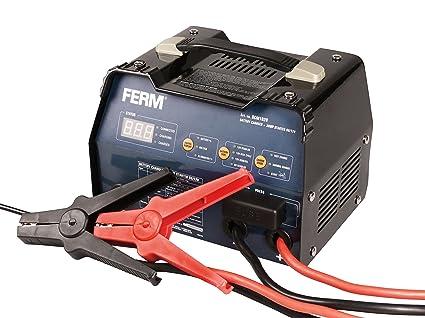 FERM BCM1020 Cargador de batería (6/12V, 400W, 230V): Amazon ...