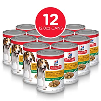 Hill's Science Diet Wet Dog Food, Puppy, Chicken Recipes