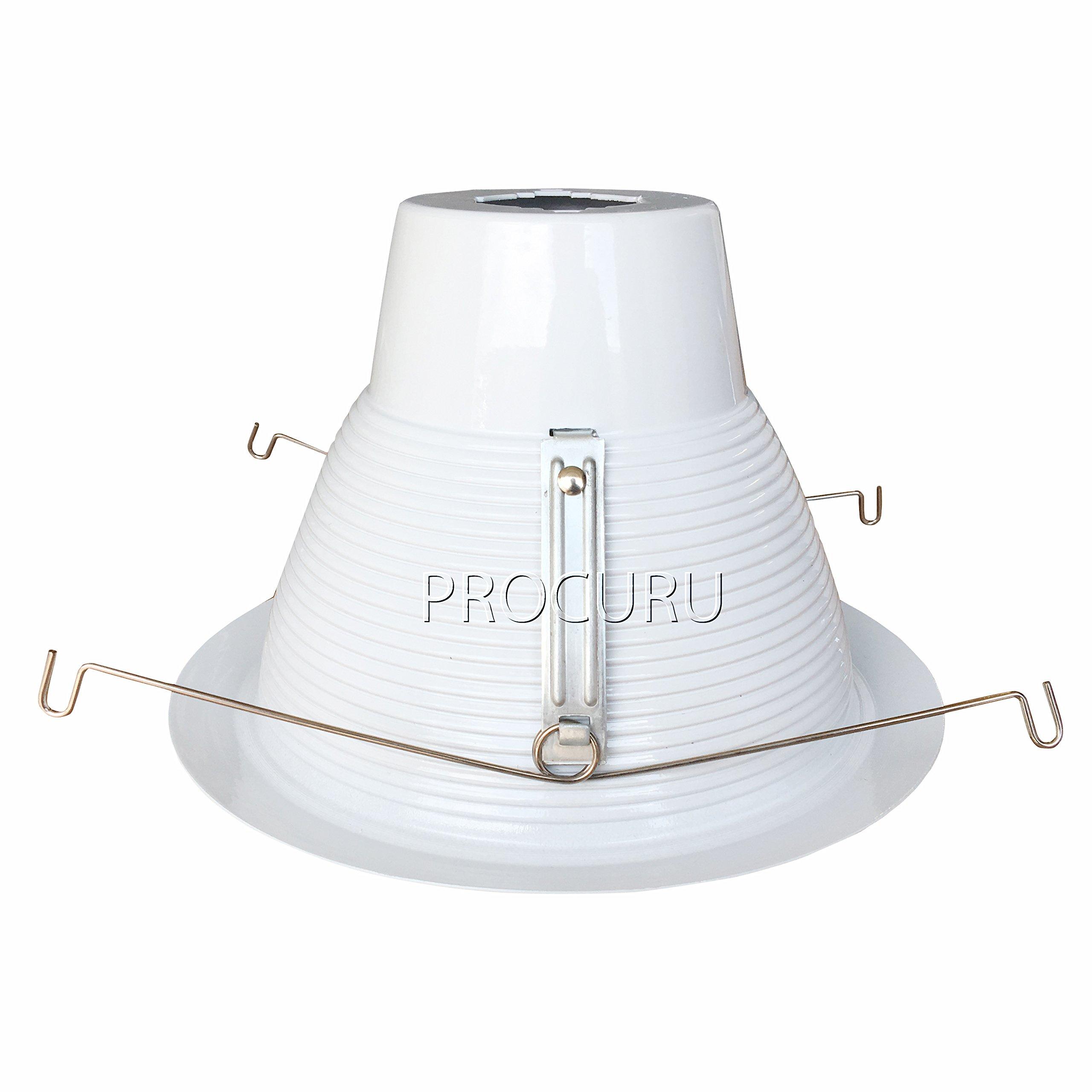 6 Pack Procuru 6 Quot Recessed Can Light Trim Solid Metal