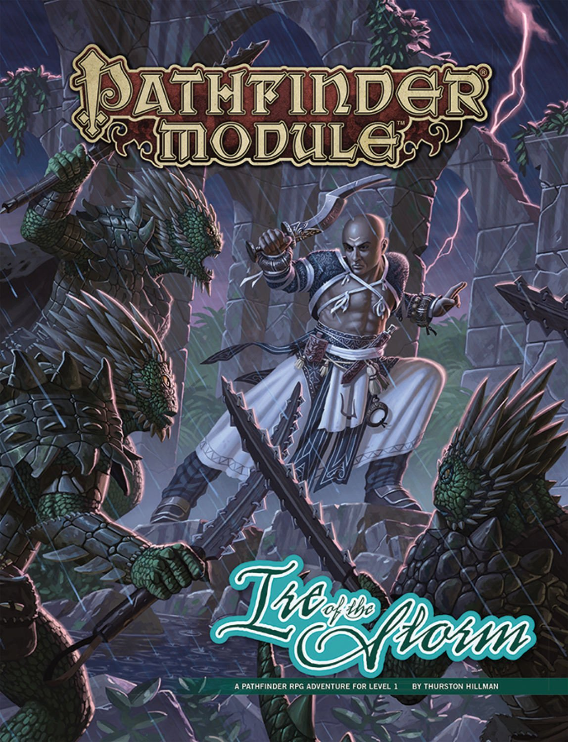 Pathfinder Module: Ire of the Storm