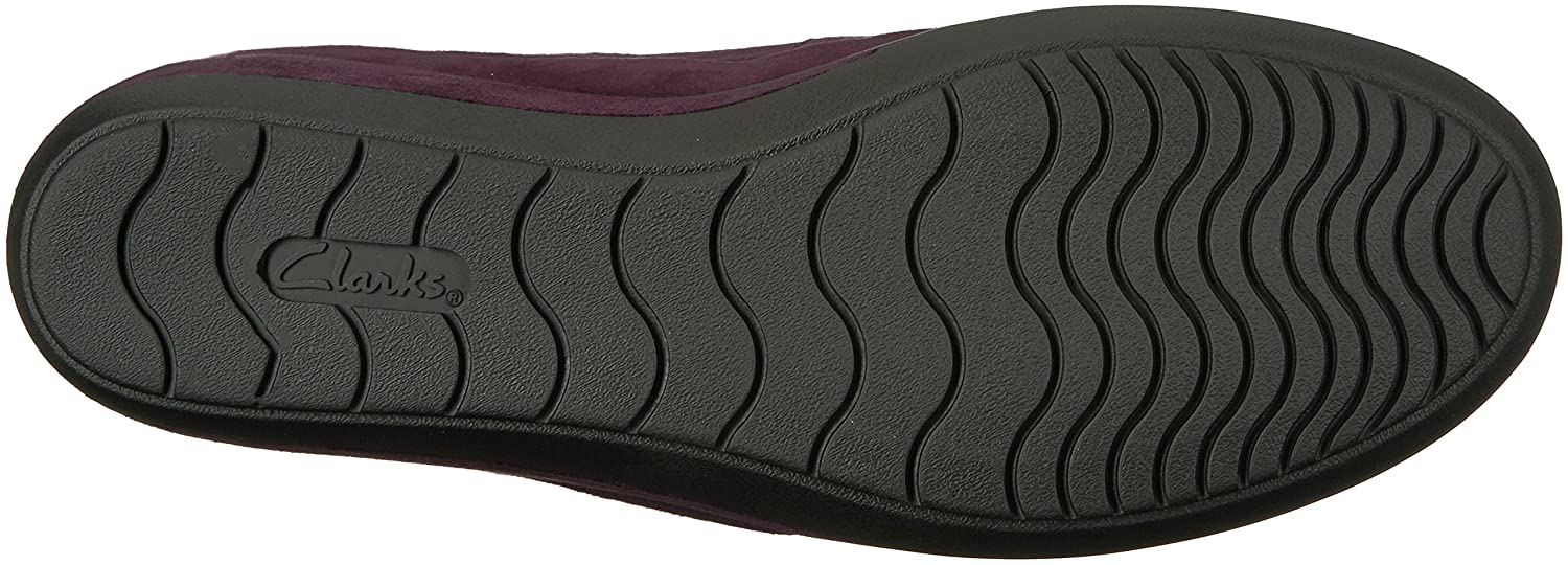 CLARKS Women's Wynnmere 6.5 Fox Ankle Wedge Pump B01N2W8WVQ 6.5 Wynnmere B(M) US|Aubergine 1d90f5