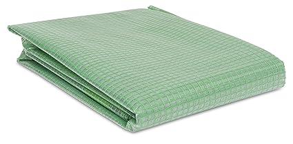 2m Gewächshausfolie Gitterfolie Frühbeetfolie Gartenfolie 250g 2m breit grün