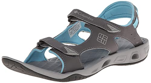 fa86a8f8868b Columbia Women s Suntech Vent Heels Sandals Grey  Amazon.co.uk ...
