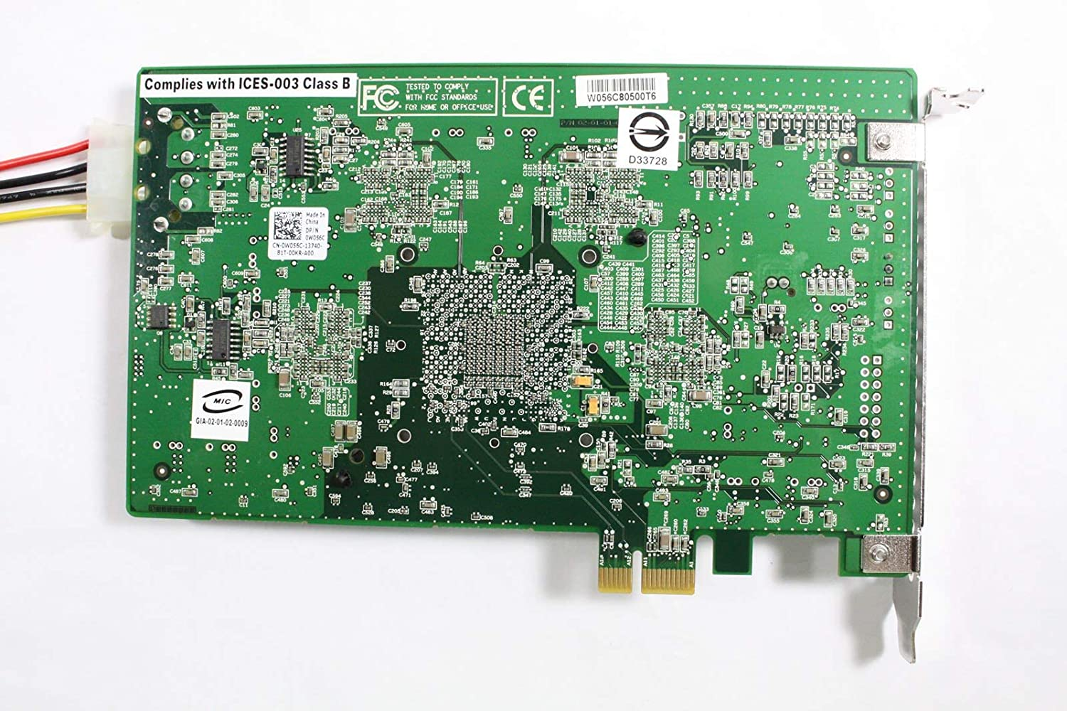 Certified Refurbished OEM Dell W056C Nvidia Ageia PhysX 128MB DDR3 PCIe x1 Accelerator Video Card