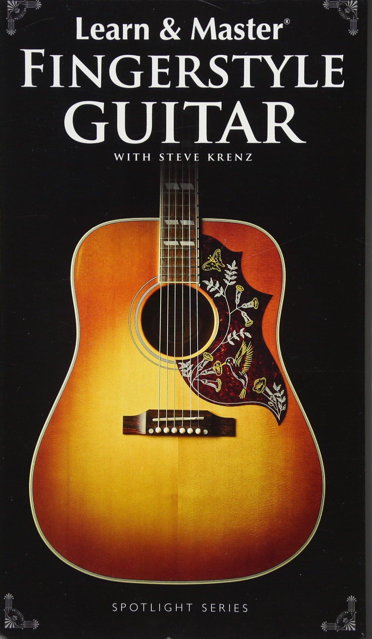 Learn Master Fngrstyl Gtr Bk/Cd/Dvds (Spotlight): Amazon.es: Krenz ...