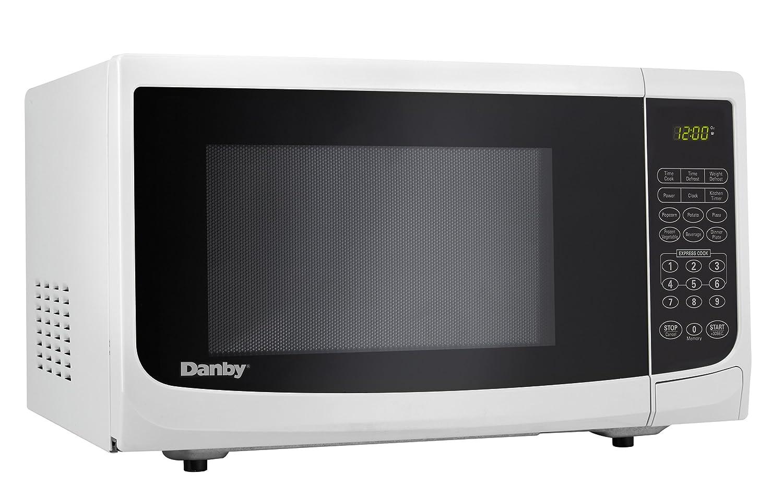 Amazon.com: Danby 0.7 cu.ft. Countertop Microwave, White: Appliances